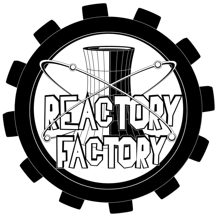Reactory Factory BW Logo