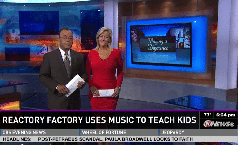 Reactory Factory WTSP10 News